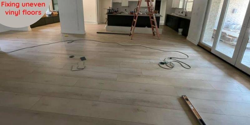 Vinyl Plank Flooring Not Laying Flat -  How to Fix It