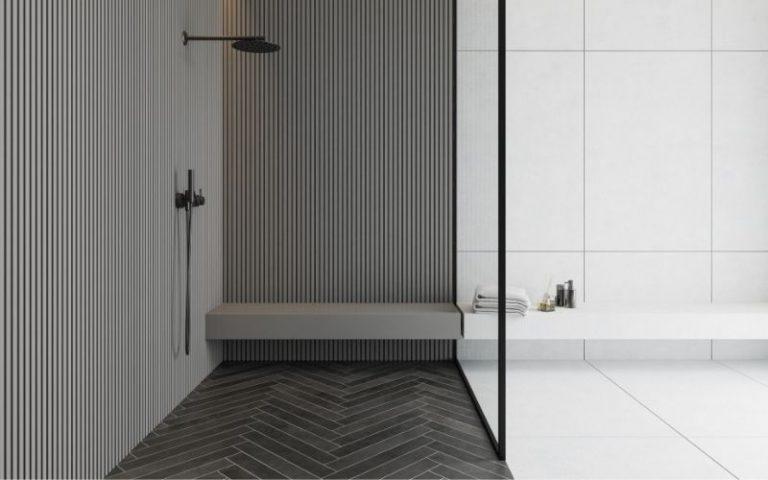 paint the shower floor